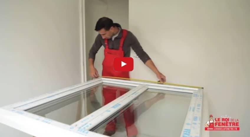 Vérification des cotes et pose en rénovation (vidéo)