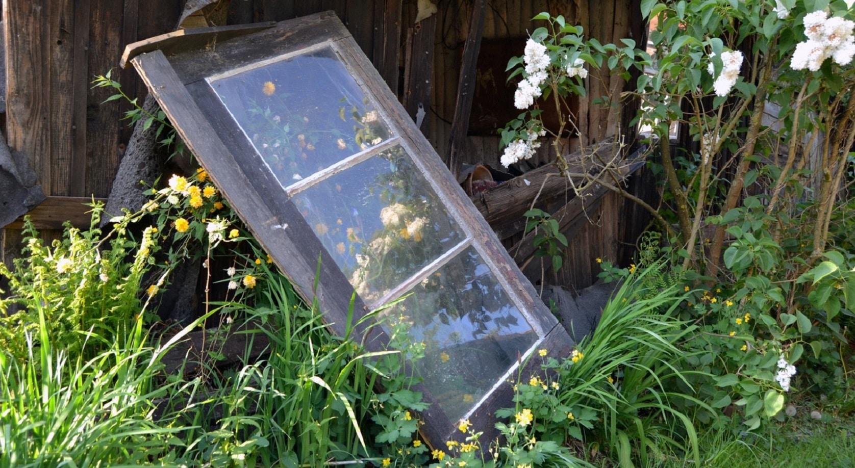 Comment recycler des vieilles fenêtres ?