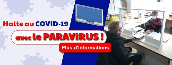 Halte au COVID-19 avec le PARAVIRUS